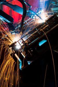 Fabricación robotizada e integrada