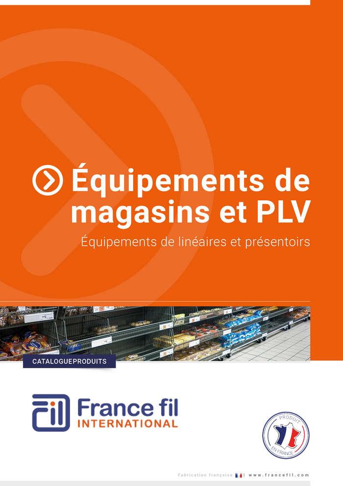 Equipements de magasins et PLV