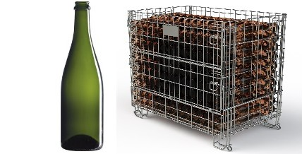 Sparkling Wine container