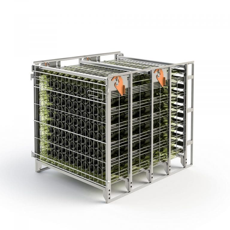 Riddling cage