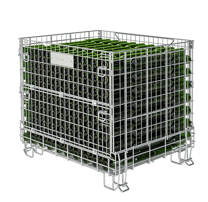 Leader on the market of cages for wineries, globally recognized know-how