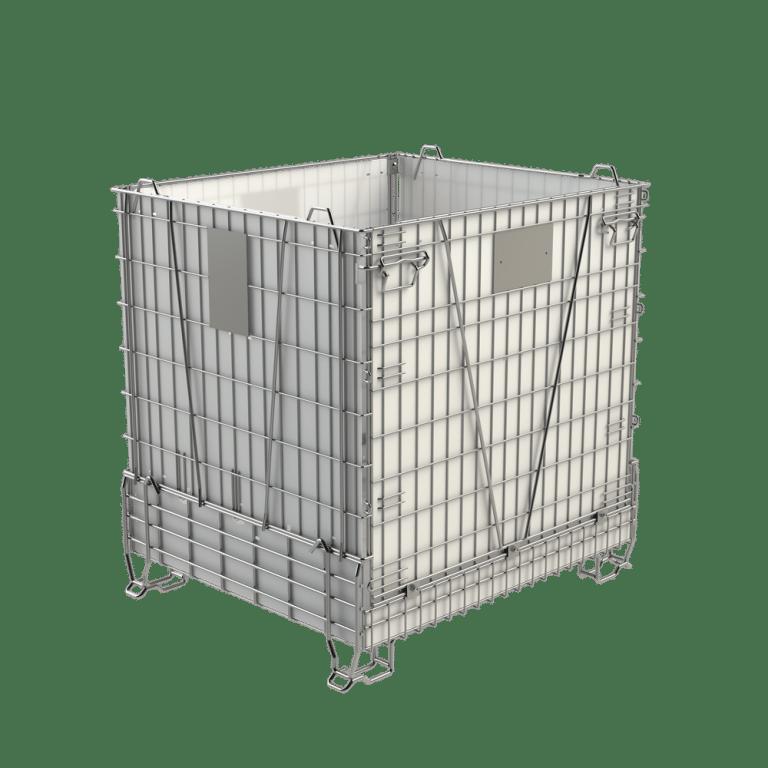 PET preforms container