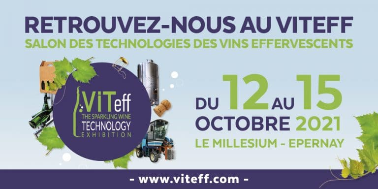 France fil sera présent au Viteff à Epernay, du 12 au 15 Octobre 2021